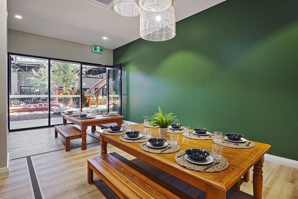 Keiki Edgewater kindy dining room