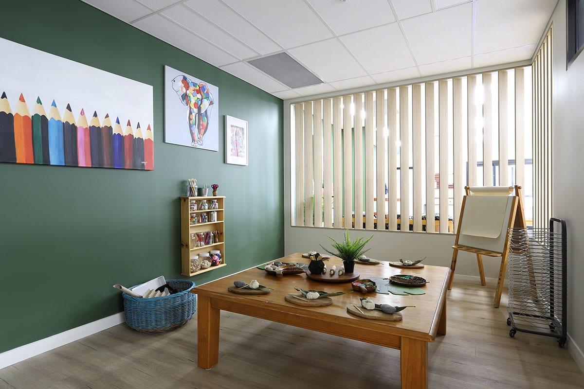 Keiki edgewater Small kindy art studio for creative minds