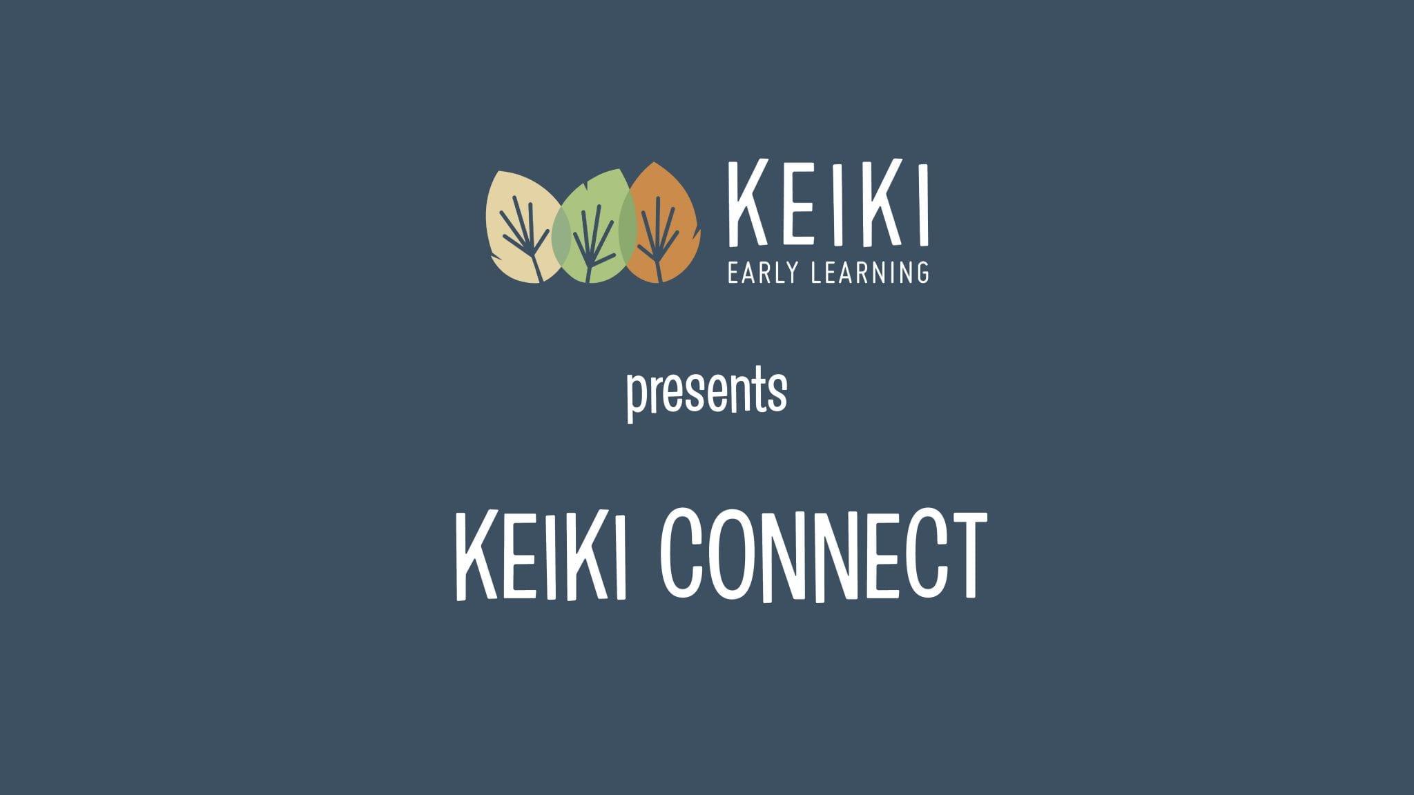 Keiki connect video start frame image