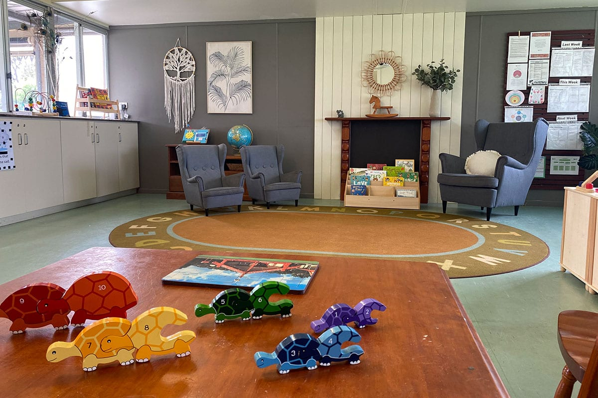 Table and Room Setup Three Plus Childcare