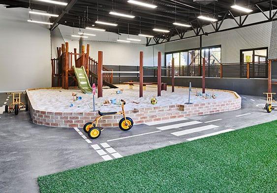 Indoor playground at Keiki Edgewater