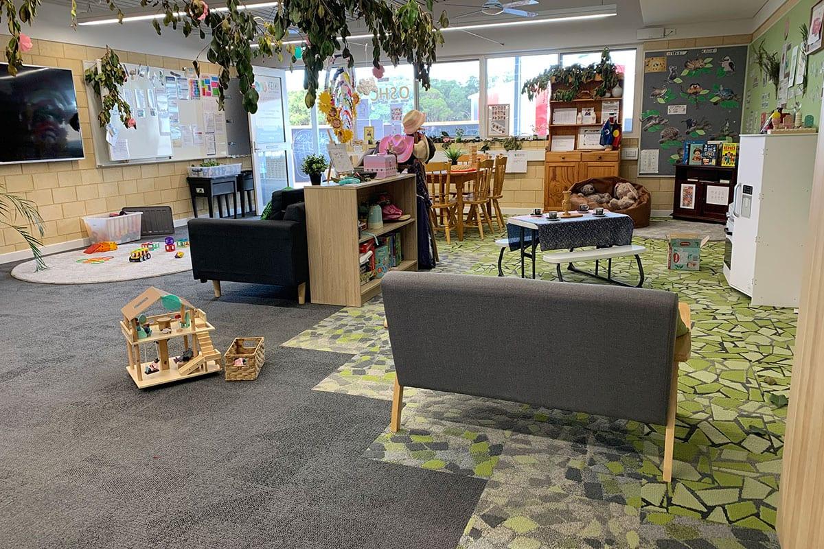 Keiki Yanchep Rise OSHC classroom